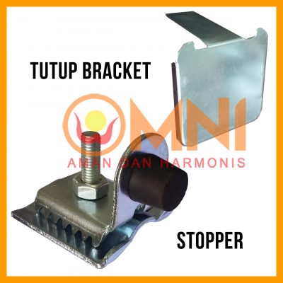 stopper dan tutup bracket